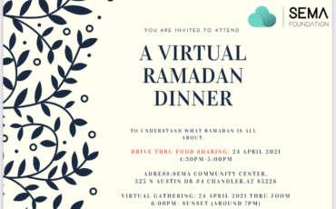 Virtual Ramadan Dinner